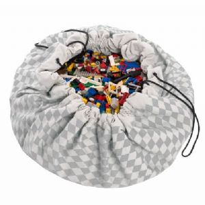 Grey Diamond - Play & Go, Toy storage Bag